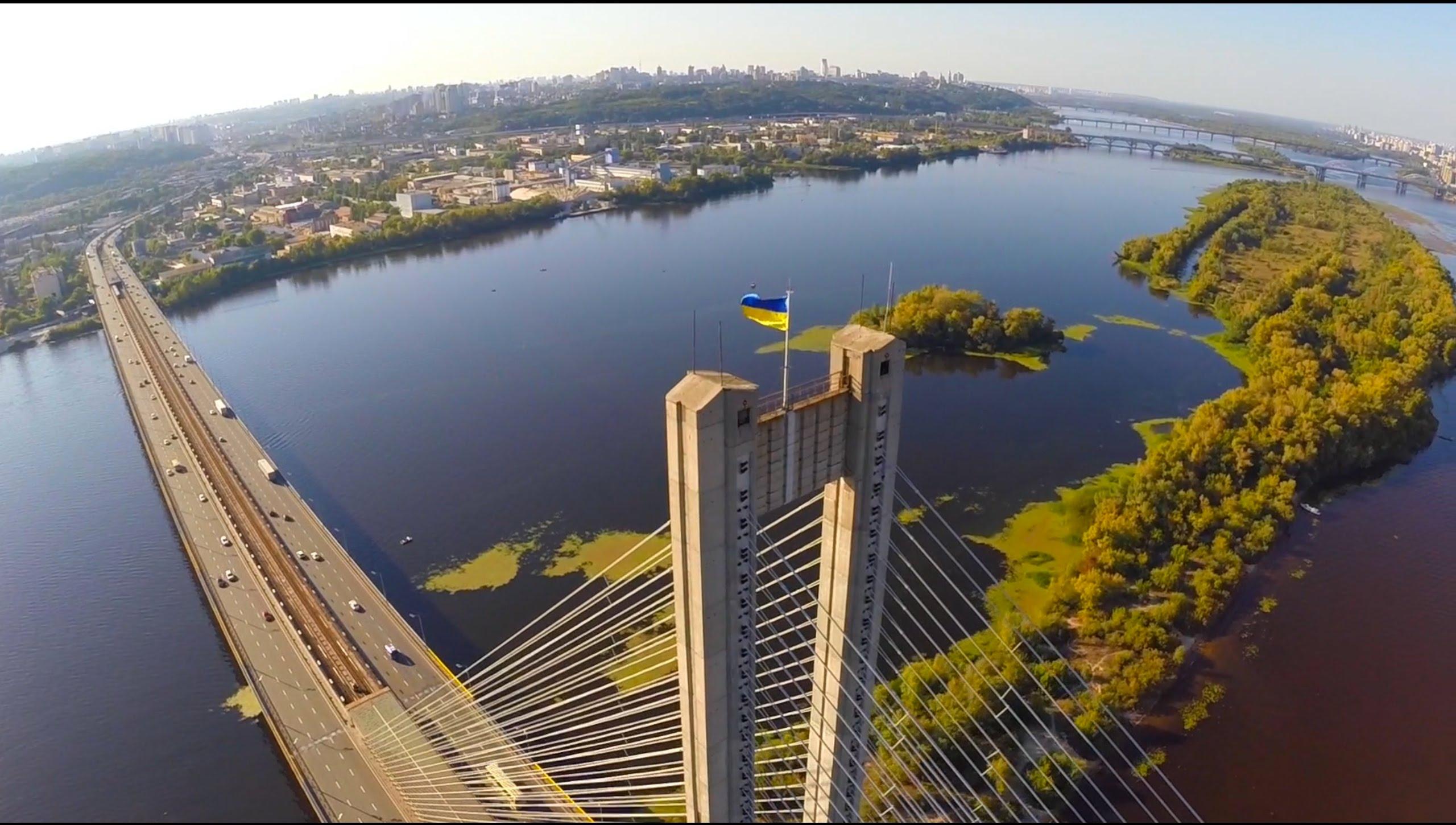 Киев от птичи поглед