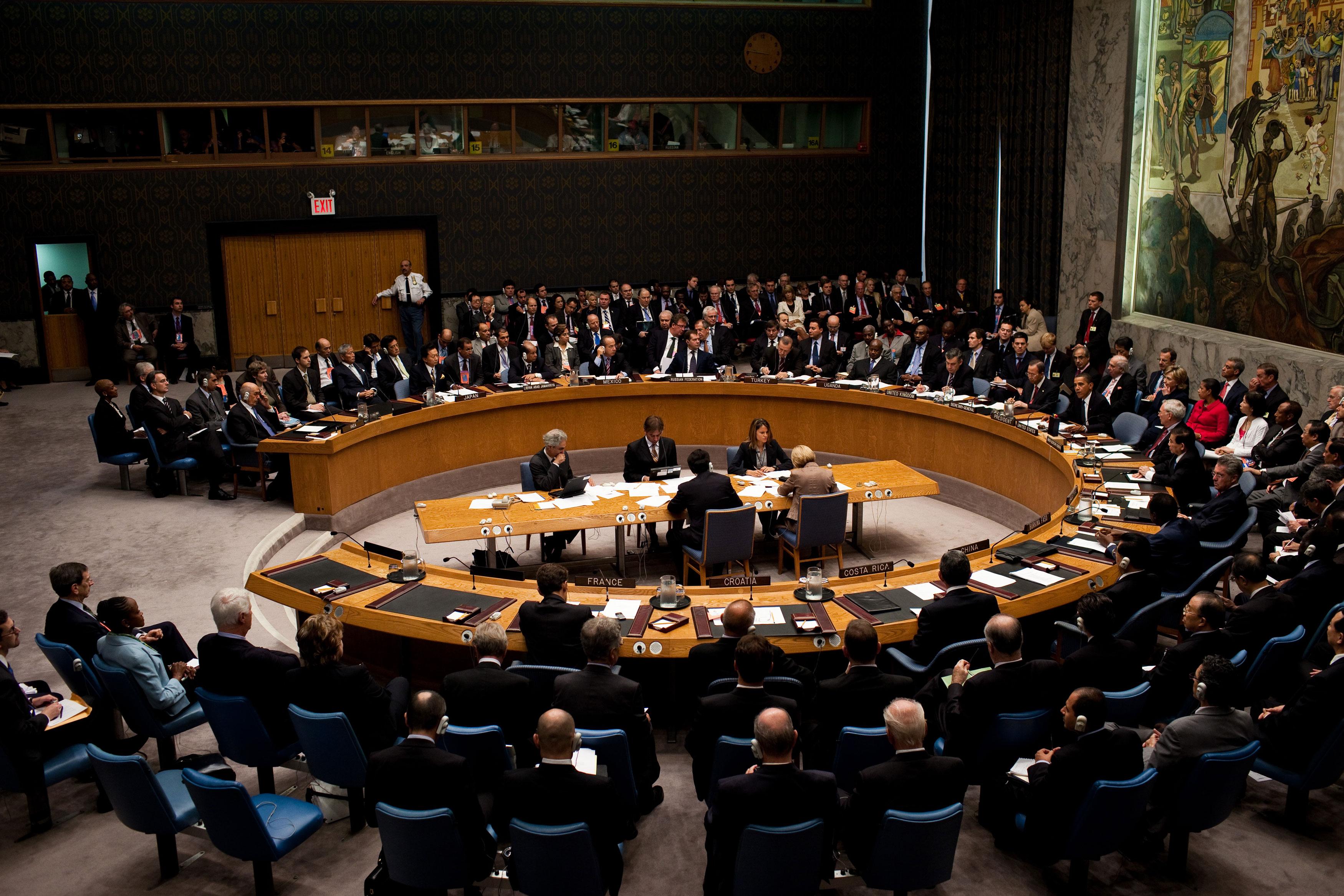 """Съветът за сигурност на ООН проведе извънредно заседание заради """"украинския въпрос"""""""