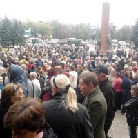 Вълна от гладни бунтове в Луганска област