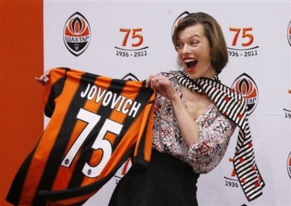 Мила Йовович: аз съм украинка
