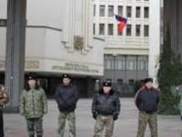 Крим, народните дружинници от отрядите за самоотбрана