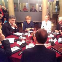 Порошенко се среща с Путин и европейските лидери