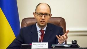 Арсений Яценюк, премиер министър на Украйна