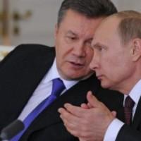 Путин Хуйло и Янукович уебище