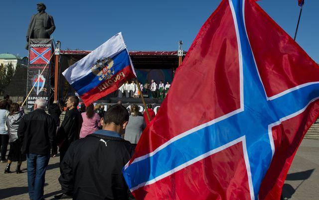 """Новорусия отпразнува първия си """"юбилей"""""""