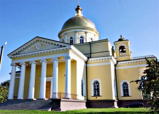"""Храмът """"Свето Преображение Господне"""" в Болград"""