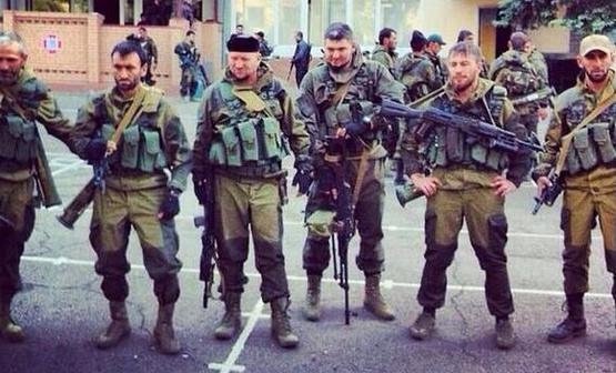 Чеченските наемници не се притесняват да показвата в социалните мрежи снимки от Донбас