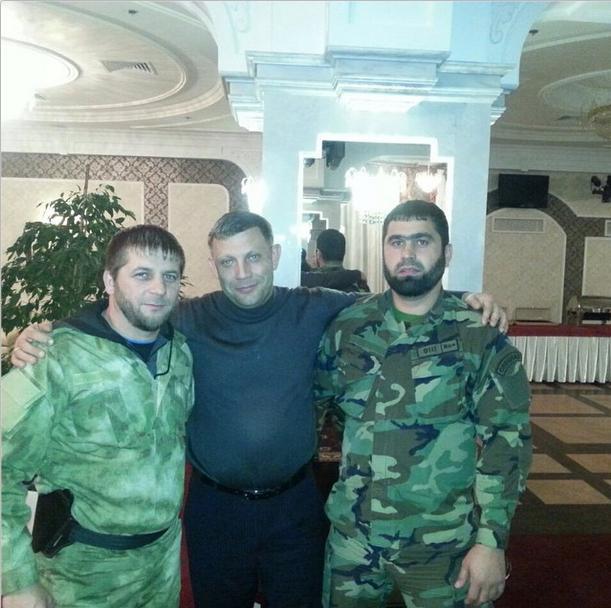 Снимка с лидера на ДНР Захарченко
