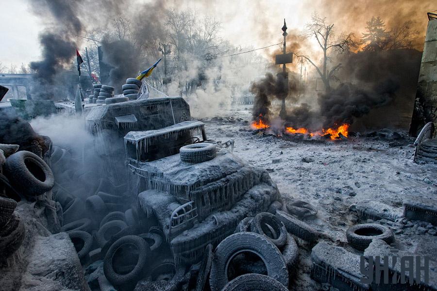 """Апокалипсис на улица """"Грушевски"""""""