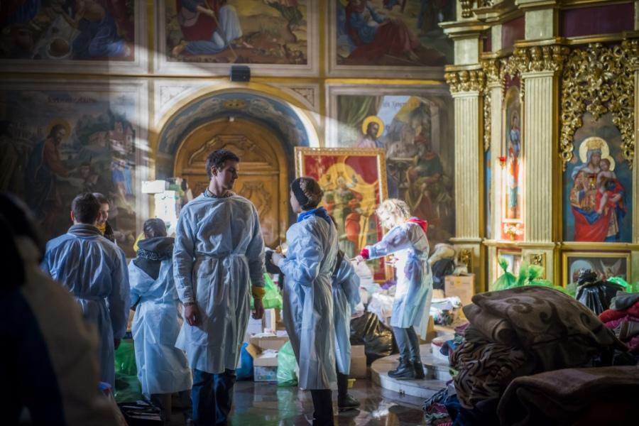 Михайловският събор изпълняваше функцията на болница.