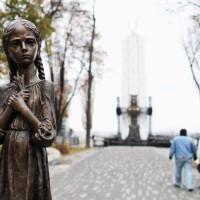 Мемориалът на Гладомор в Киев