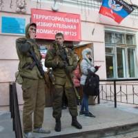 """""""Избори"""" в Донбас – преди да пуснеш бюлетината, трябва да покажеш как си гласувал"""
