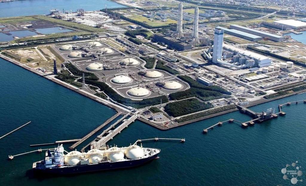 Така изглежда LNG-терминалът в Япония, която е световен лидер в използването на втечнен природен газ