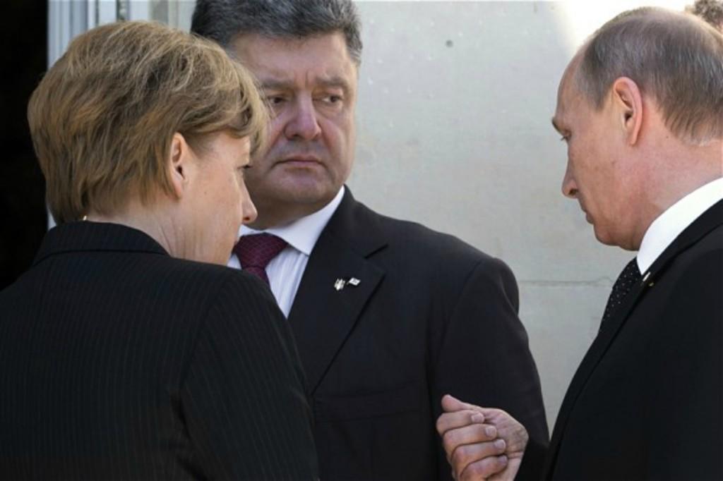 Лидерите на Франция, Германия, Украйна и САЩ в телефонен разговор обсъдиха въпроса за мирното урегулиране на конфликта в Донбас