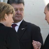 Нощен телефонен разговор на лидерите на Германия, Франция, Украйна и Русия