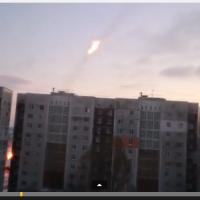 Стрелба от жилищен квартал в Донецк