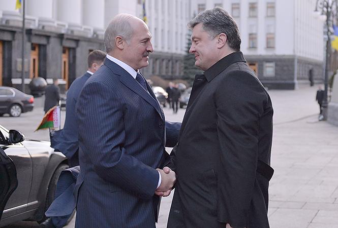 Президентите на Украйна и Беларус / Снимка: пресслужба на президента на Беларус