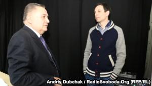 Evgeniy Marchuk and Vitaliy Portnikov