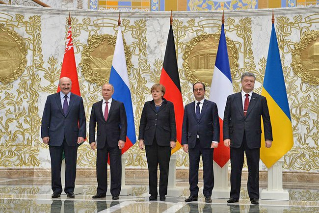 Срещата в Минск