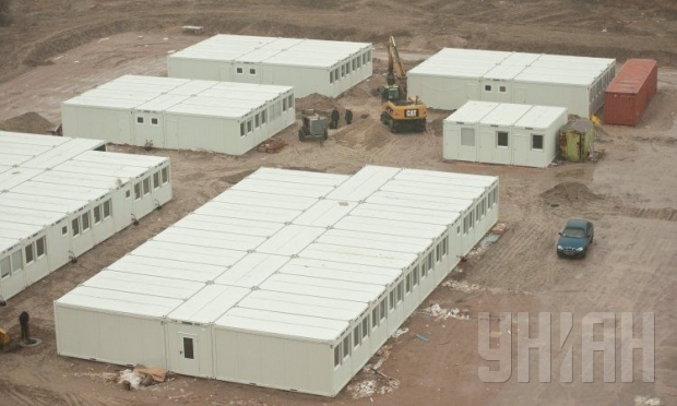 Module homes for refugees