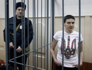 Надежда Савченко/снимка: Yuri Kochetkov, EPA
