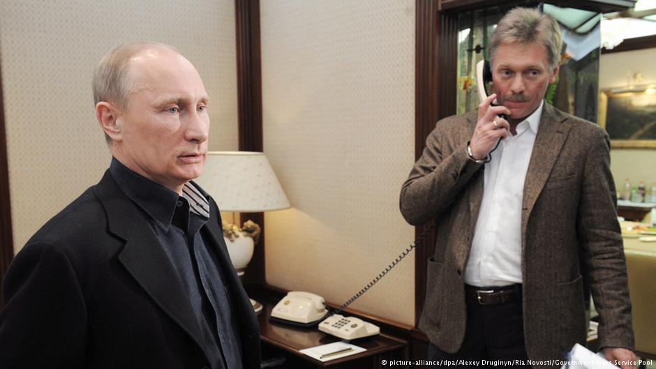 Putin and Peskov