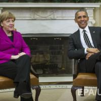 Обама: САЩ и Германия няма да позволят прекрояване на европейските граници под дулото на пистолета