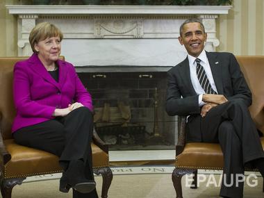 Меркел_Обама