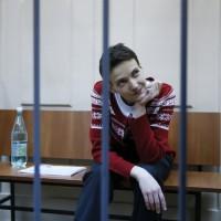 Как оцелява Надежда Савченко: фоторепортаж от Московския съд