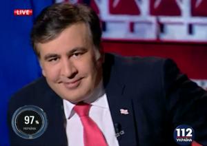 """Михаил Саакашвили в предаването """"Шустер Live"""""""