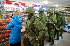 """Операция """"Зелени човечета"""" в Крим"""