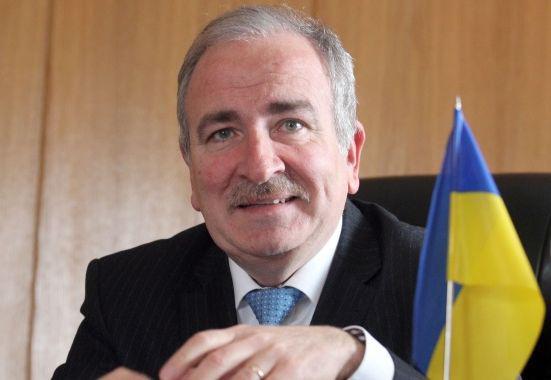 Микола Балтажи, посланик на Украйна
