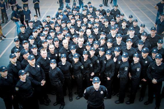 Новата патрулна служба на Киев