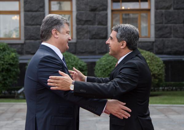 Росен Плевнелиев и Петро Порошенко