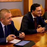 Среща в Одеса: Михаил Саакашвили, Даниел Митов, Павло Климкин