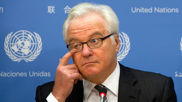 Виталий Чуркин, представител на Русия в ООН
