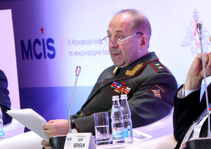 Игор Сергун, ГРУ РФ