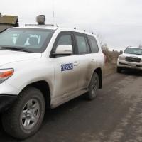 автомобили на мисията наОССЕ