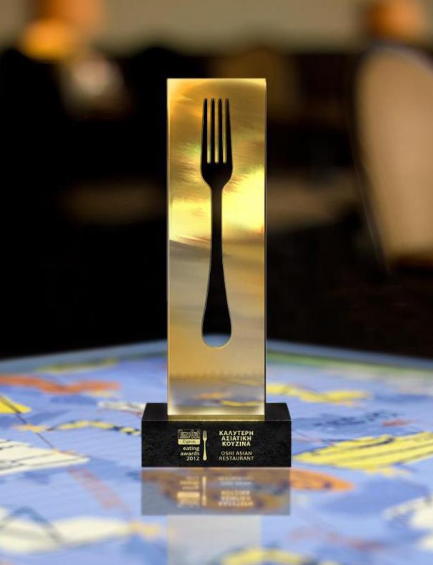 През 2012 Oshi е признат за най-добрия ресторант в Кипър и оттогава редов получава тази награда